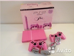Приставка PS2 Sony Playstation 2 Pink